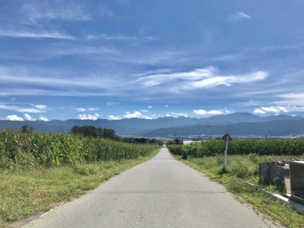 伊那谷の風景