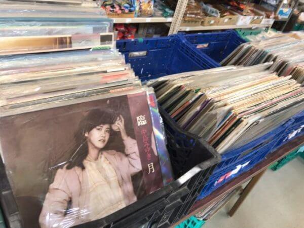 中古のレコード