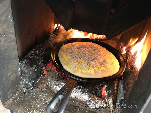 クラフトマンストーブ 料理