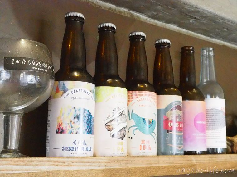 In a daze Brewing(イナデイズブルーイング)伊那市