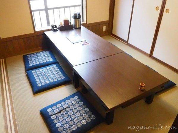 観光荘 岡谷市 個室