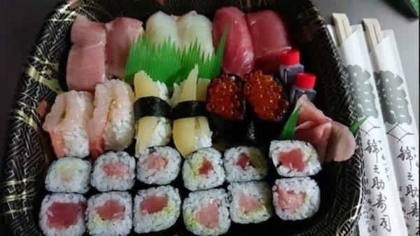 伊那市 テイクアウト 錦之助寿司