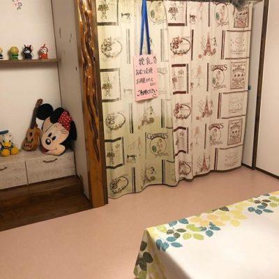 喫茶en 豊丘村 2階の部屋 授乳おむつ交換スペース