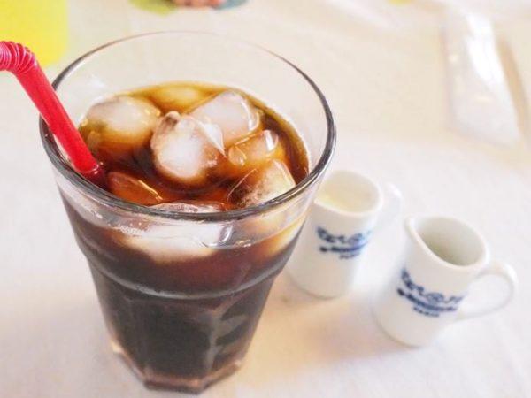 喫茶en 豊丘村 アイスコーヒー