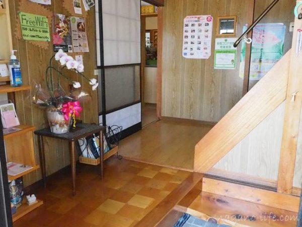 喫茶en 豊丘村 玄関