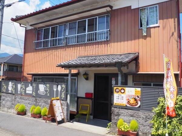 喫茶en 豊丘村 お店の外観