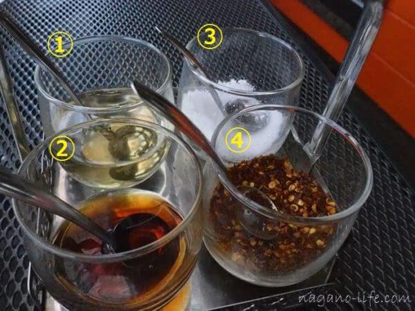 アゲイン 中川村 タイ料理 クルワンプルーン タイ料理 調味料