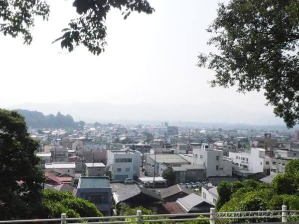 伊那市立伊那小学校 高台からの景色