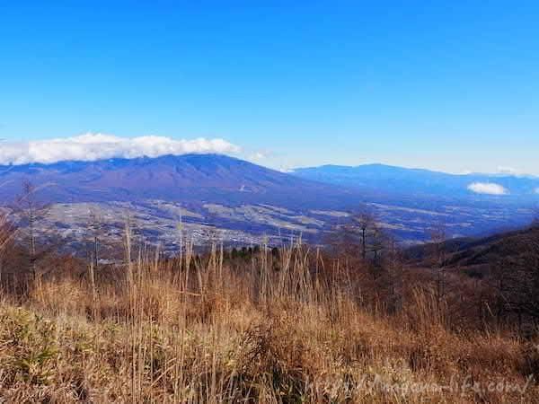 山とすすきの風景