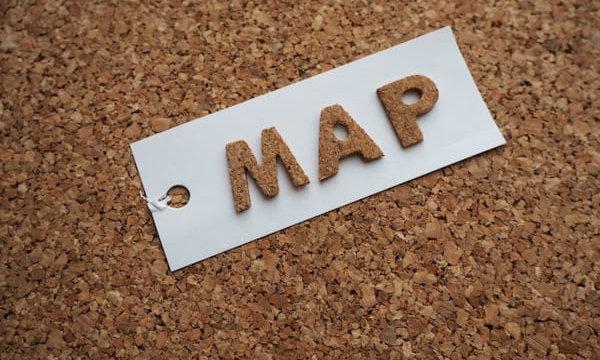 MAPの文字
