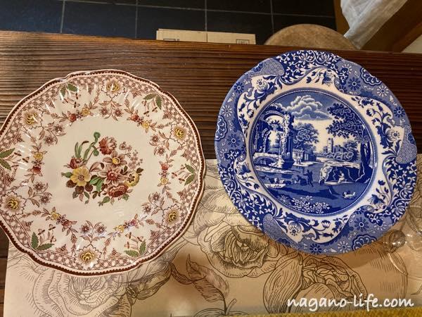 2枚のお皿